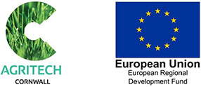 Agritech Cornwall and ERDF logo
